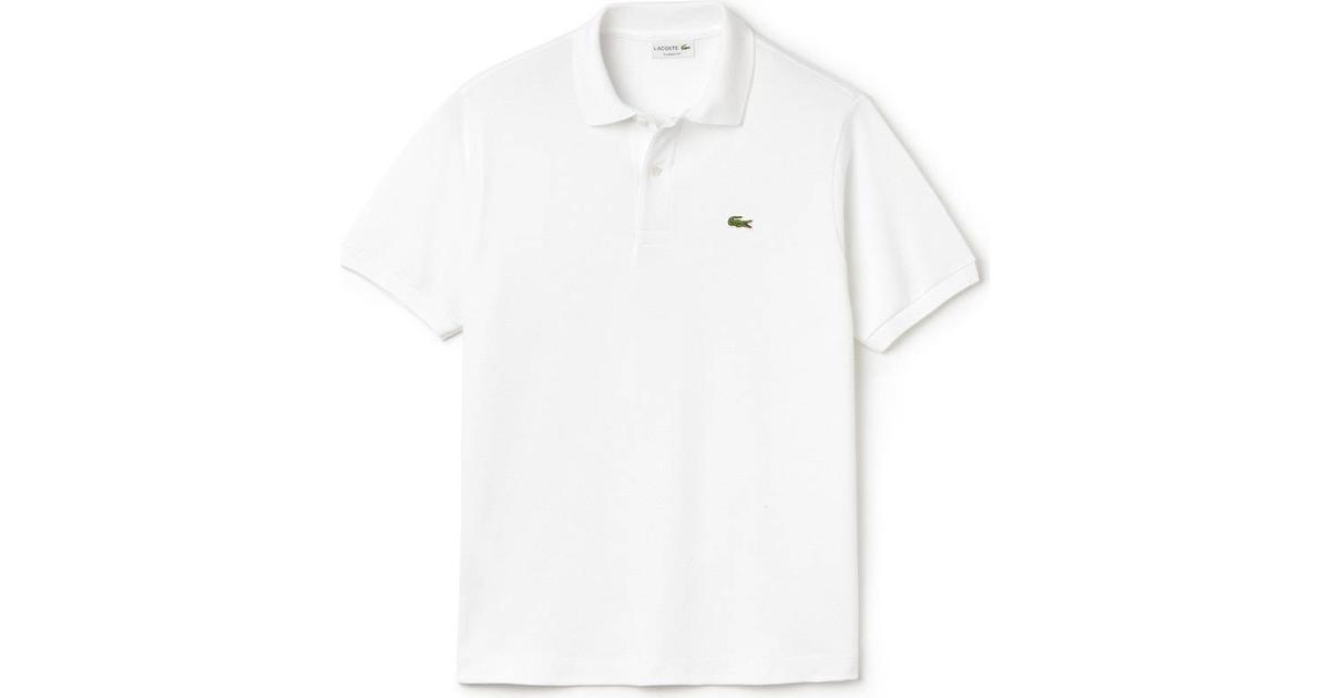 c40b1db917d Lacoste Polo Shirt - White - Sammenlign priser hos PriceRunner