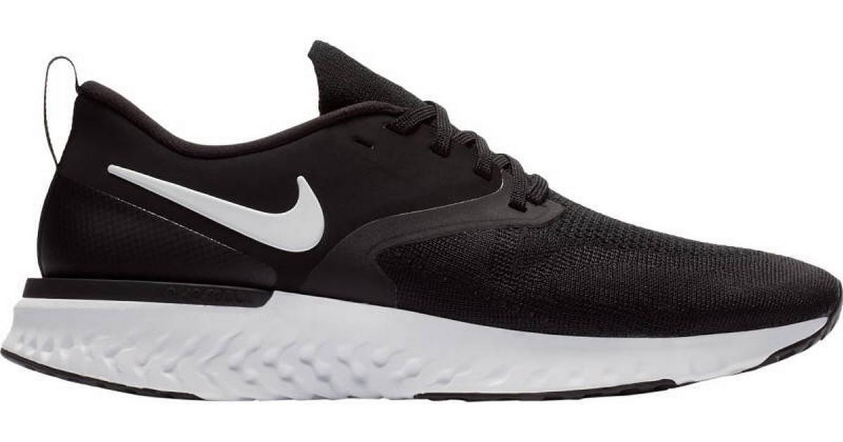 sale retailer 4e9e5 f06db Nike Odyssey React Flyknit 2 - Black White - Hitta bästa pris, recensioner  och produktinfo - PriceRunner