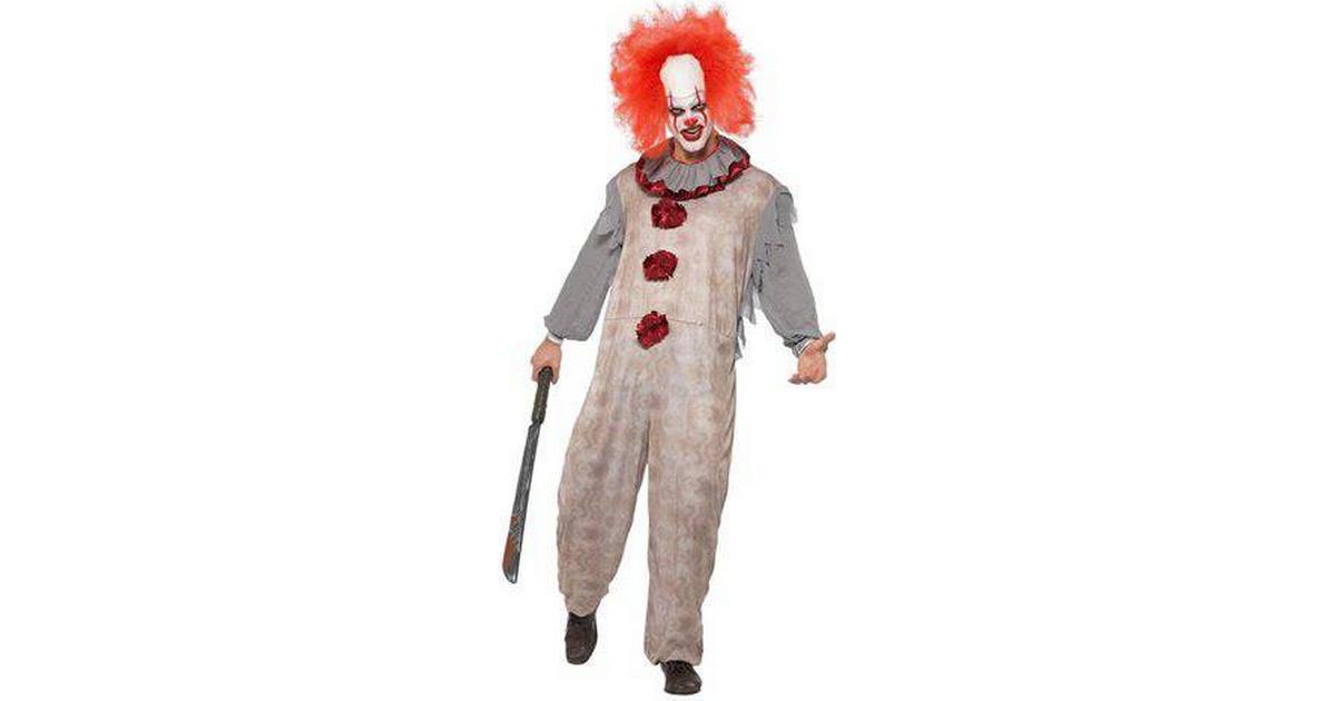 Smiffys Gammaldags Clown Maskeraddräkt - Hitta bästa pris ... 687b77a91f25a