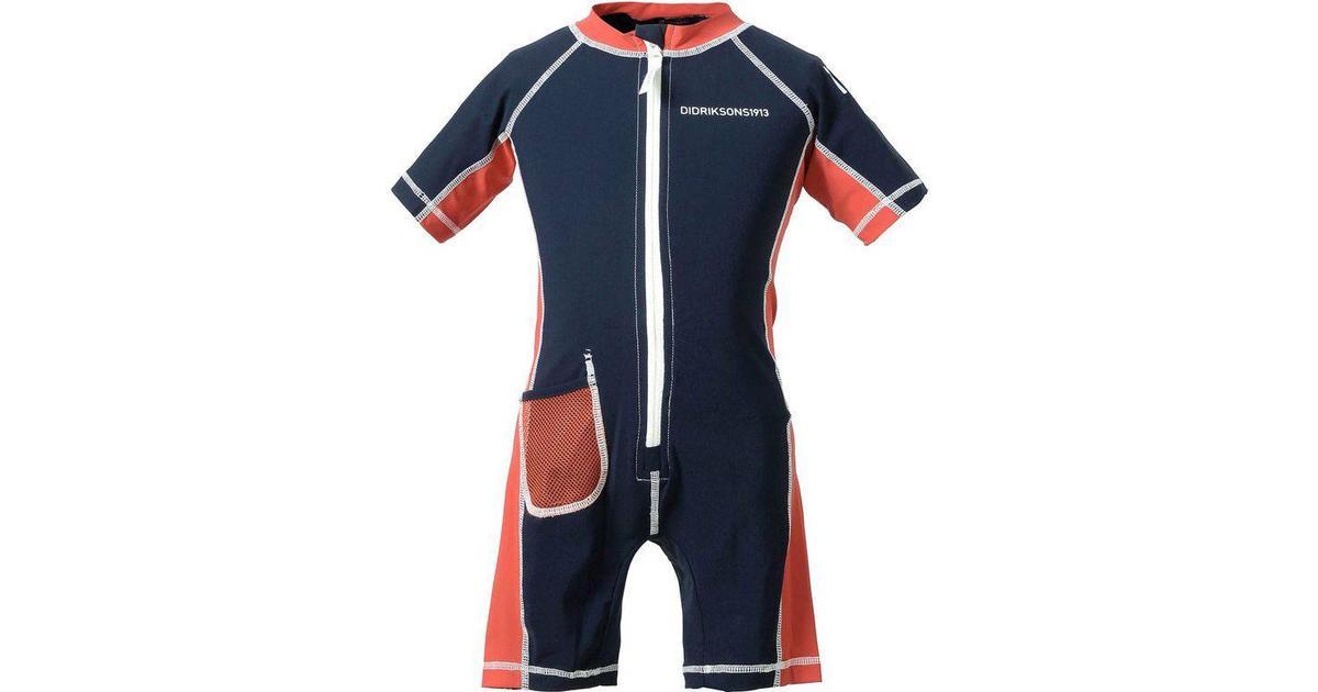 2ba42cbed57 Didriksons Reef Kid's UV Suit - Navy (501728-039) - Sammenlign priser hos  PriceRunner