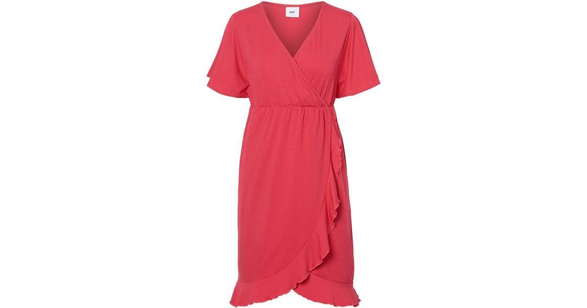 10e43daaa Mama.licious Cross Over Nursing Dress Red/Claret Red (20009507)