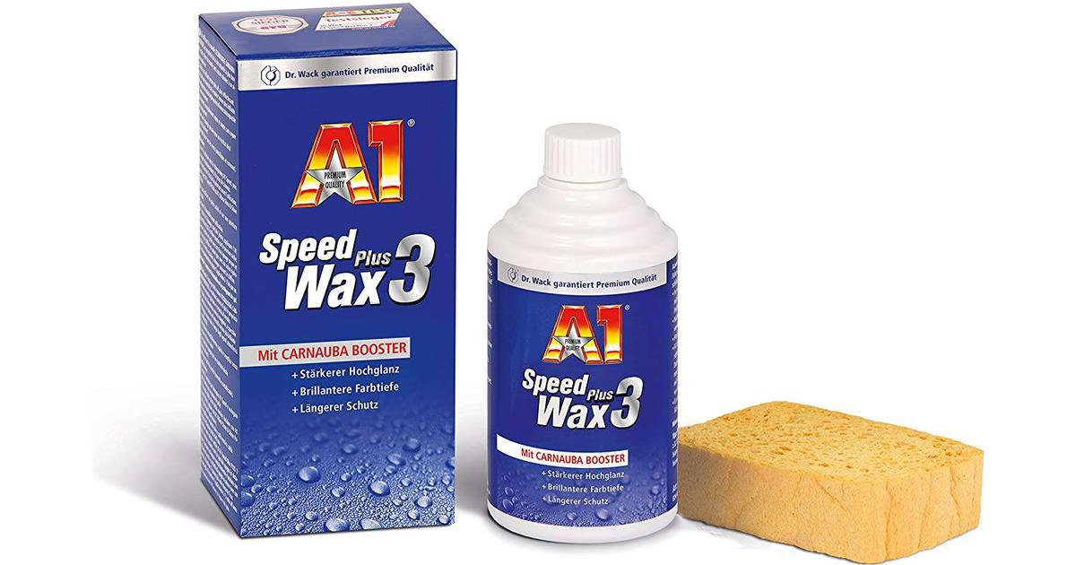 dr wack a1 speed wax plus 3 250ml compare prices. Black Bedroom Furniture Sets. Home Design Ideas