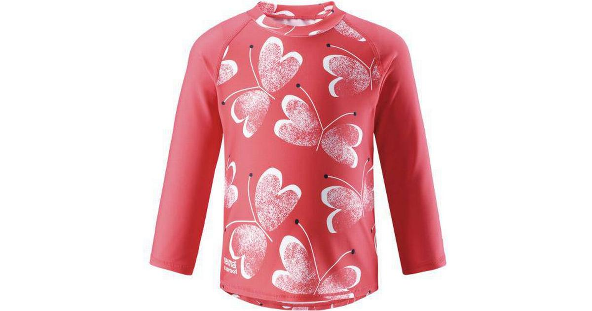ad274169df7 Reima Kids' Swim Shirt Borneo - Bright red (516349-3343) - Sammenlign  priser hos PriceRunner