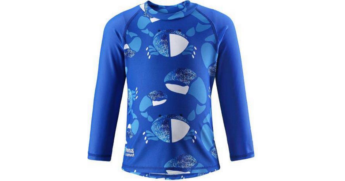 332a552ffbd Reima Kids' Swim Shirt Borneo - Blue (516349-6643) - Sammenlign priser hos  PriceRunner