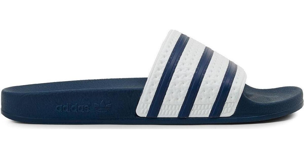 1661035c2c3 Adidas Adilette - Adiblue/White - Hitta bästa pris, recensioner och  produktinfo - PriceRunner