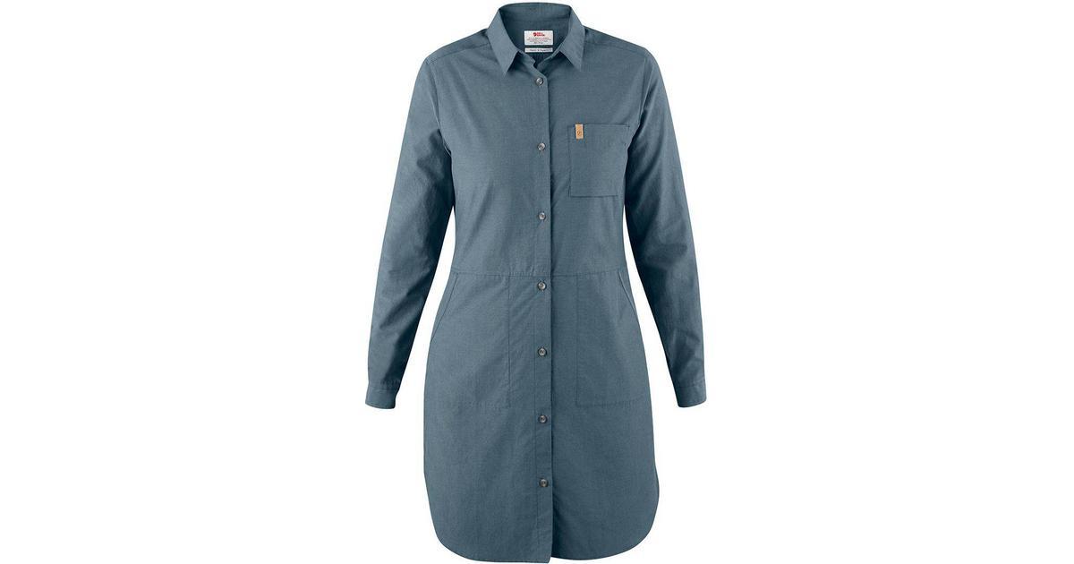 a9f87c9ac1fe Fjällräven Övik Shirt Dress - Dusk - Sammenlign priser hos PriceRunner