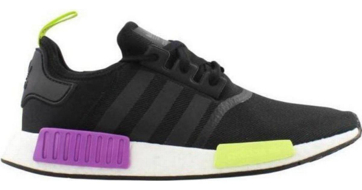 cf39d19fd74 Adidas NMD_R1 - Black/Purple/Yellow - Hitta bästa pris, recensioner och  produktinfo - PriceRunner