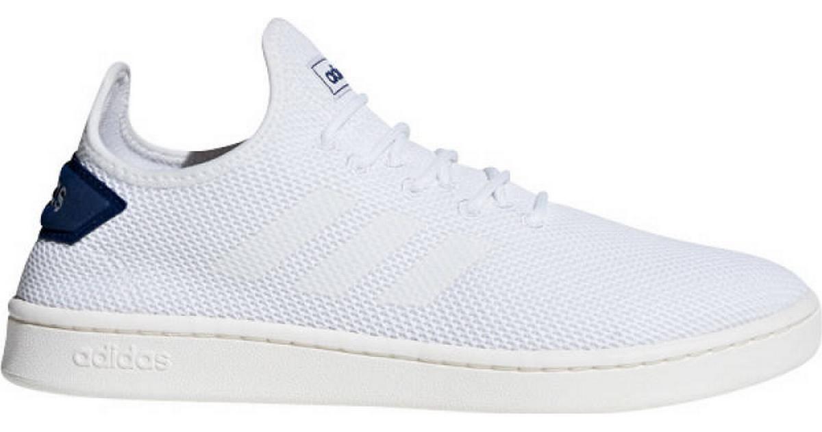 4812fc82d78 Adidas Court Adapt - Cloud White/Cloud White/Blue - Hitta bästa pris,  recensioner och produktinfo - PriceRunner