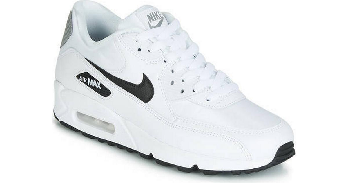 4b363c91dd6 Nike Air Max 90 - White/Reflect Silver/Black - Sammenlign priser hos  PriceRunner