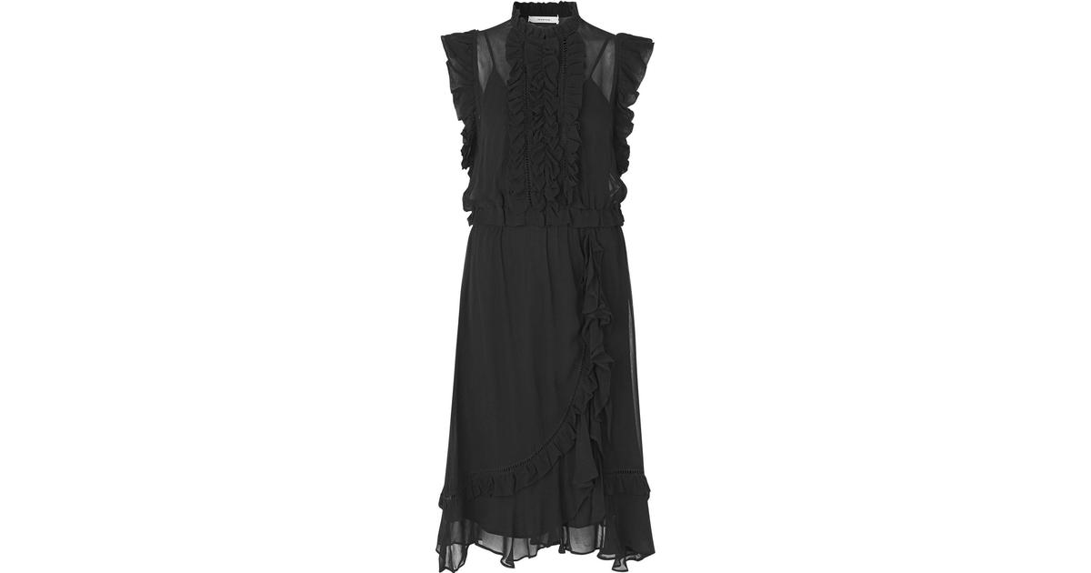 6b4f2323b97 Munthe Accept Dress - Black - Sammenlign priser hos PriceRunner