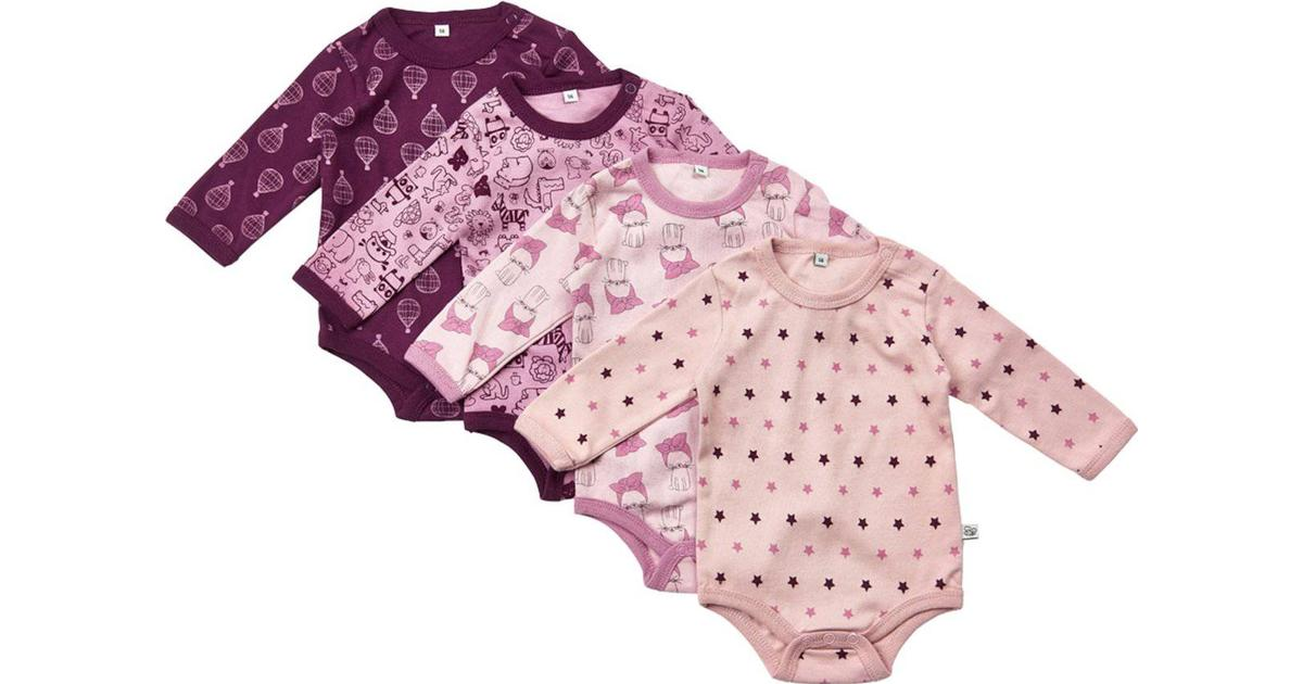 7f5dcc87d Pippi Body 4-pack - Lilac (3819-600)