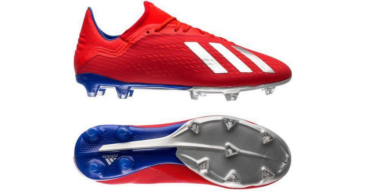 443f8528ff0 Adidas X 18.2 Firm Ground M - Active Red/Silver Met./Bold Blue - Hitta  bästa pris, recensioner och produktinfo - PriceRunner