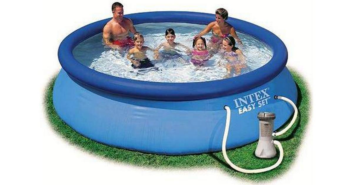 Superbly Intex Easy Pool Set Ø3.66m - Sammenlign priser hos PriceRunner PA79