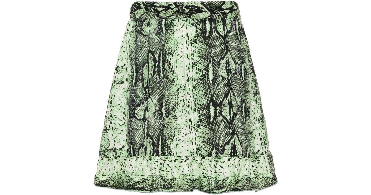 56960041190 Name It Kid's Snake Print Skirt - White/Bright White (13174292) -  Sammenlign priser hos PriceRunner
