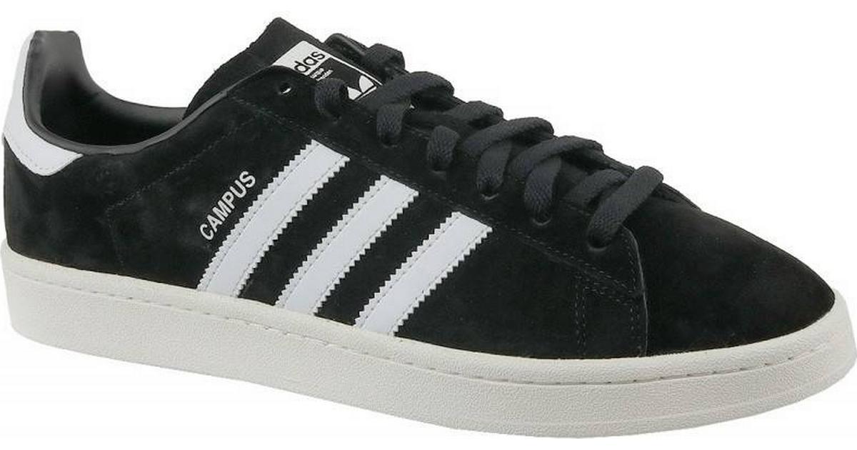 a91b798bd49 Adidas Campus - Core Black/Footwear White/Chalk White - Sammenlign priser  hos PriceRunner