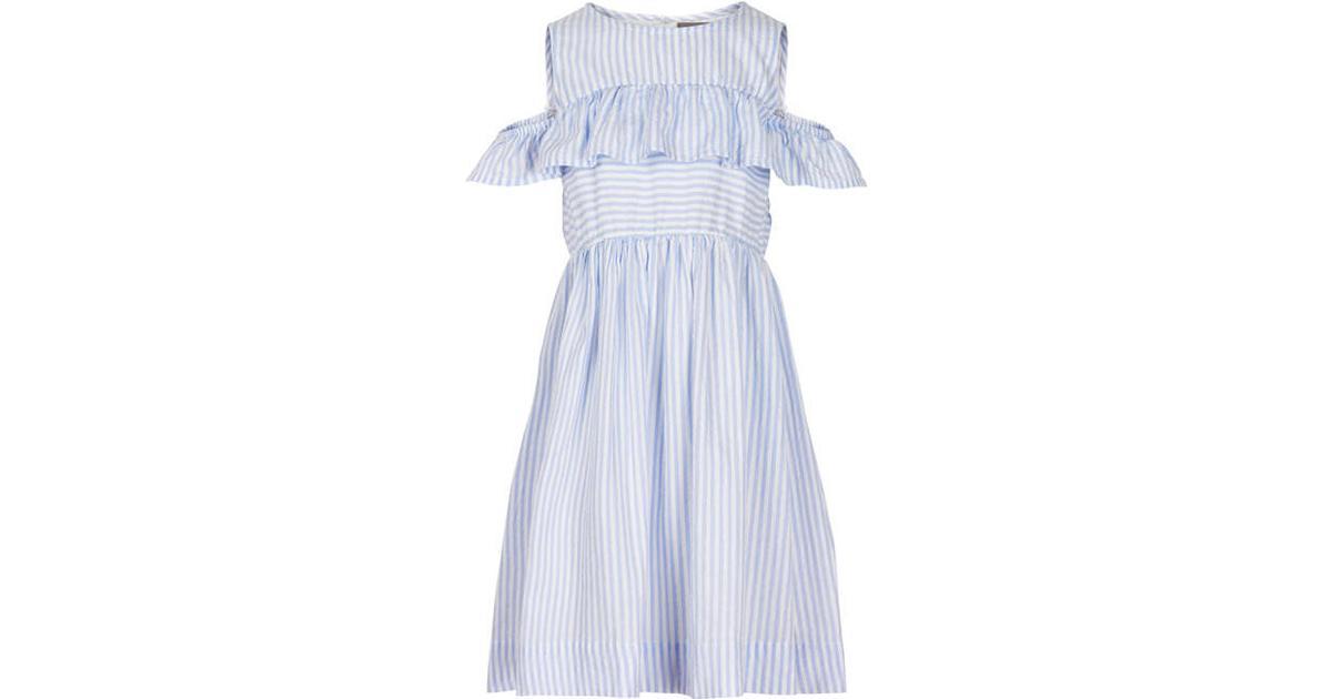 a9ef8e88 Creamie Blue Stripe Dress - Xenon Blue (821036-7749) - Sammenlign priser  hos PriceRunner