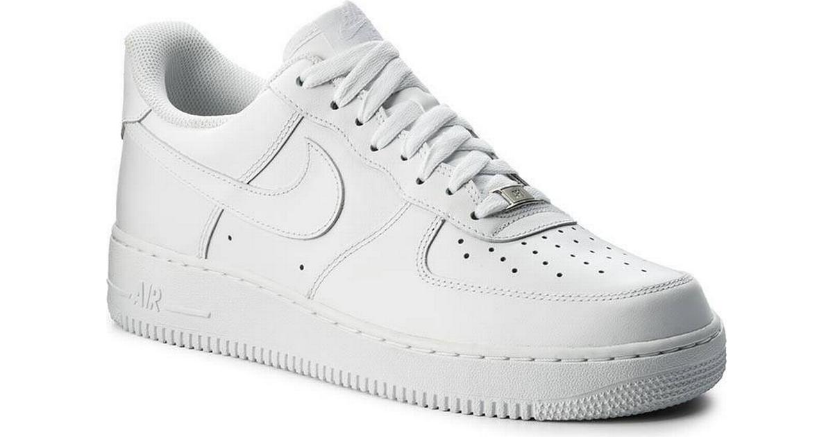 18599c77d56 Nike Air Force 1 Sage Low W - White/White/White - Sammenlign priser hos  PriceRunner