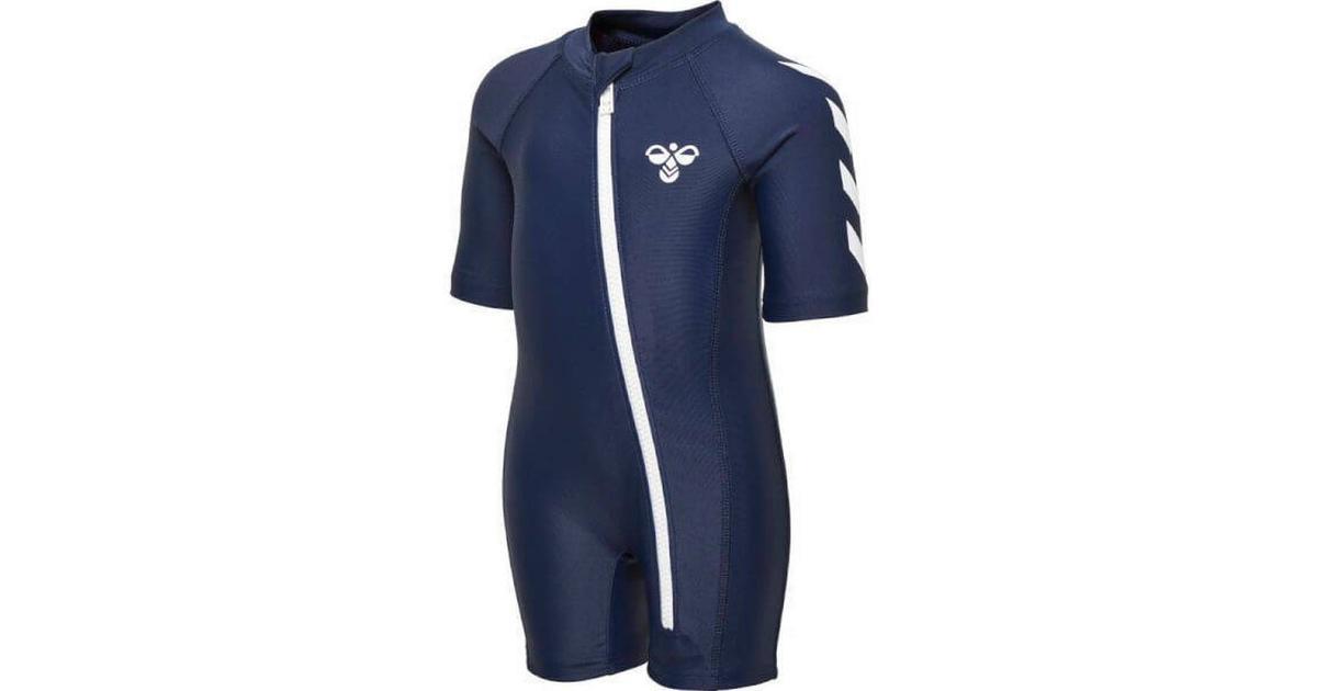 438517f52c2 Hummel Sonny Swim Bodysuit - Black Iris (202300-1009) - Sammenlign priser  hos PriceRunner