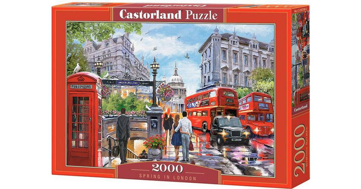 Scotland Puzzle Castorland Eilean Donan Castle 2000 Piece