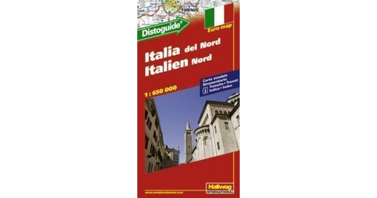 Karta Nord Italien.Norra Italien Distoguide Hallwag Karta Ovrigt Format 2013 Hitta