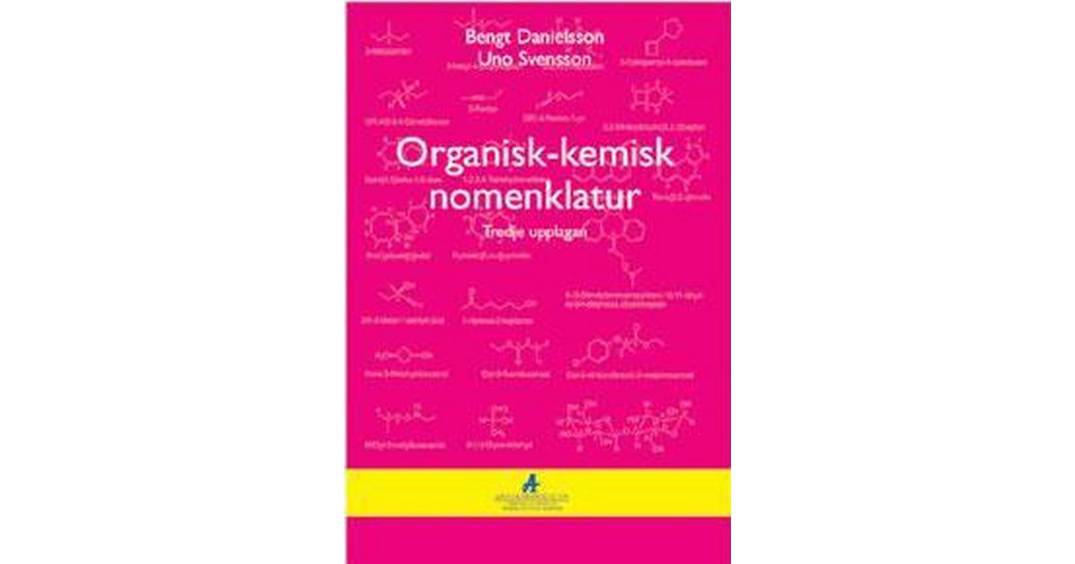 organisk kemisk nomenklatur