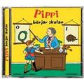 Pippi Långstrump börjar skolan (Ljudbok CD, 2015)