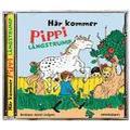 Här kommer Pippi Långstrump (Ljudbok CD, 2015)