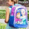Glittrig skolryggsäck Frost