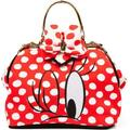Irregular Choice Mickey Mouse & Friends I Heart Minnie BICIHRT01B Bag - Red And White