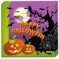 Happy spooky halloween servietter - 20 stk