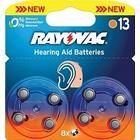 Rayovac Hörapparats batteri 8-Pack