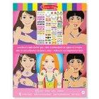Melissa & Doug Jewellery and Nails Glitter Collection Sticker Pad