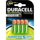 Duracell AA 4 Pack 2400mAh precharged