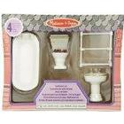 Melissa & Doug DollHouse Bathroom Furniture