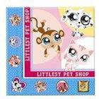 Hasbro Littlest Pet Shop Paper Napkins, Pack of 16