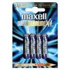 Maxell Super Batteri Alkaline 4st AAA/LR03