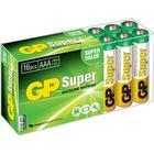 GP Super Batteri Alkaline 16st AAA/LR03 - 1,5V
