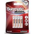 GP Sunmatic Batteri Lithium 4st AAA/LR03 - 1,5V