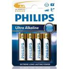 Philips ExtremeLife+ Ultra Batteri Alkaline 4st AA/LR06