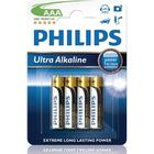 Philips ExtremeLife+ Ultra Batteri Alkaline 4st AAA/LR03