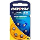 Rayovac Acoustic Special hörapparatsbatteri PR70 10AP 6-pack