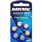 Rayovac Acoustic Special hörapparatsbatteri PR44 675AP 6-pack