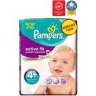 Pampers Active Fit Nappies Size 4+ Monthly Pack - 140 Nappies