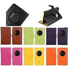 Mini in the Box Super Genuine Leather Case Stand Flip for Nokia Lumia 1020 (Assorted Colors)
