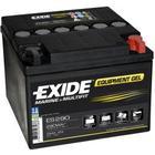 Tudor gelbatteri Fritidsbatteri 25Ah GEL Tudor Exide GEL ES290