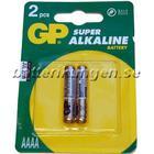 Batterikungen 2 st AAAA Alkaline batteri