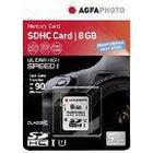 AgfaPhoto 10502 Class 10 8 GB Professional High Speed SDHC Card