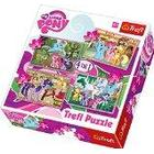 Trefl 4-in-1 Puzzle Ponies Holiday Hasbro My Little Pony