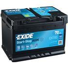 Tudor Exide Bilbatteri Startbatteri Startbatteri 70Ah AGM Tudor Exide EK700 AGM