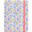 Trendz Universal PU Patterned Leather Folio Tablet Case Cover with Closing Strap and Built-In Standfor 6-8 Inch Tablets such as iPad Mini, iPad Air, Google Nexus 7, Samsung Galaxy Tab 2/3/4, Kobo Arc, Avoca 8 and Kindle Fire HD/HDX 7.0- Ditsy Floral
